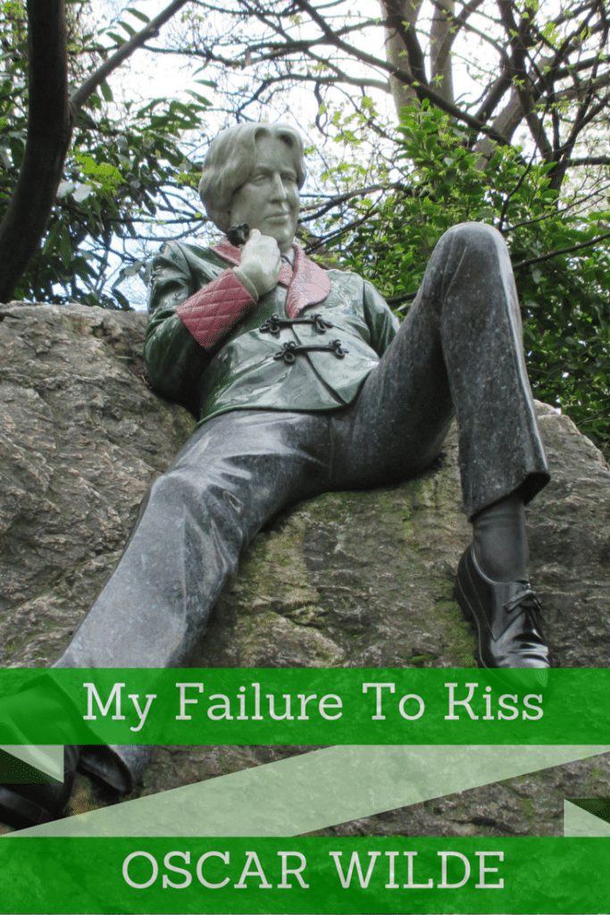 My Failure to Kiss Oscar Wilde