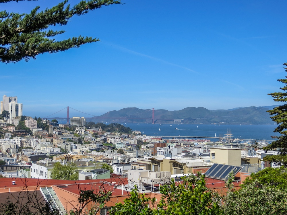 solo female travel in san francisco tip: wear good shoes