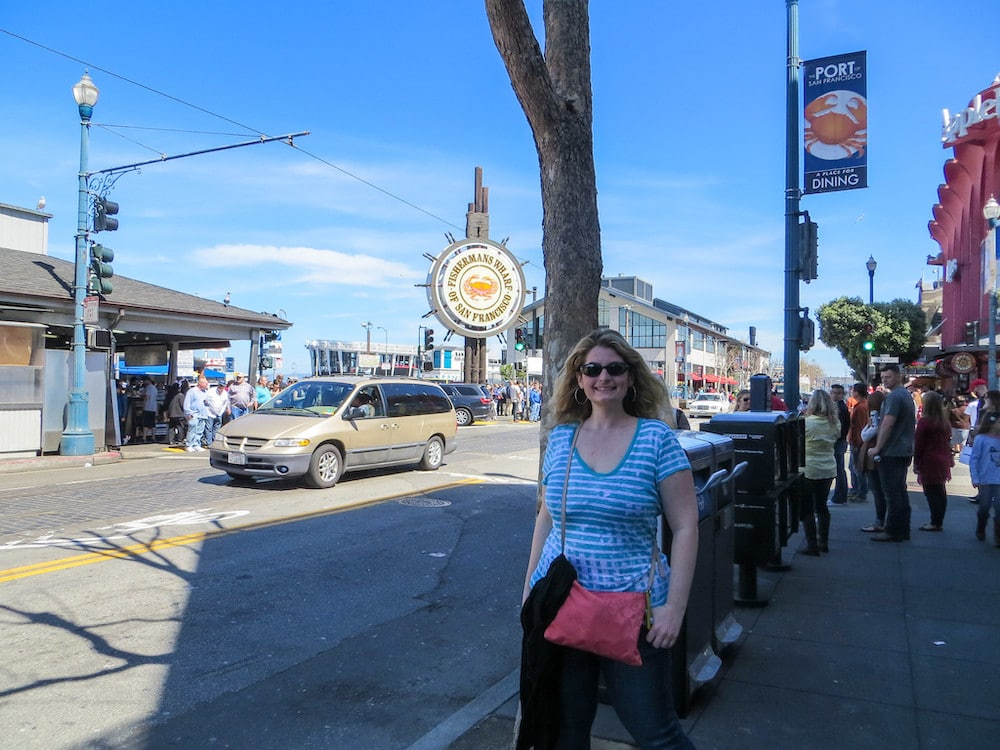 Go to Fisherman's Wharf on your San Francisco Solo Travel Adventure