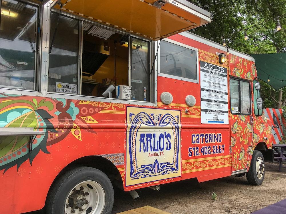 solo travel austin at food trucks
