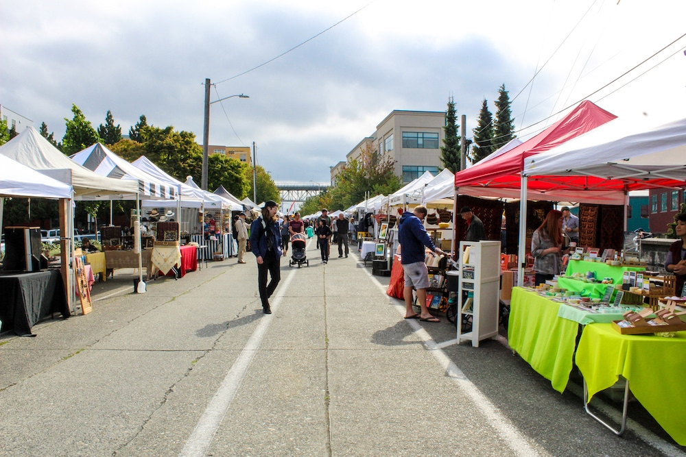 fremont seattle things to do on sunday include the market