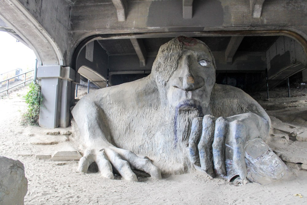 what to do in fremont seattle includes an incredible troll