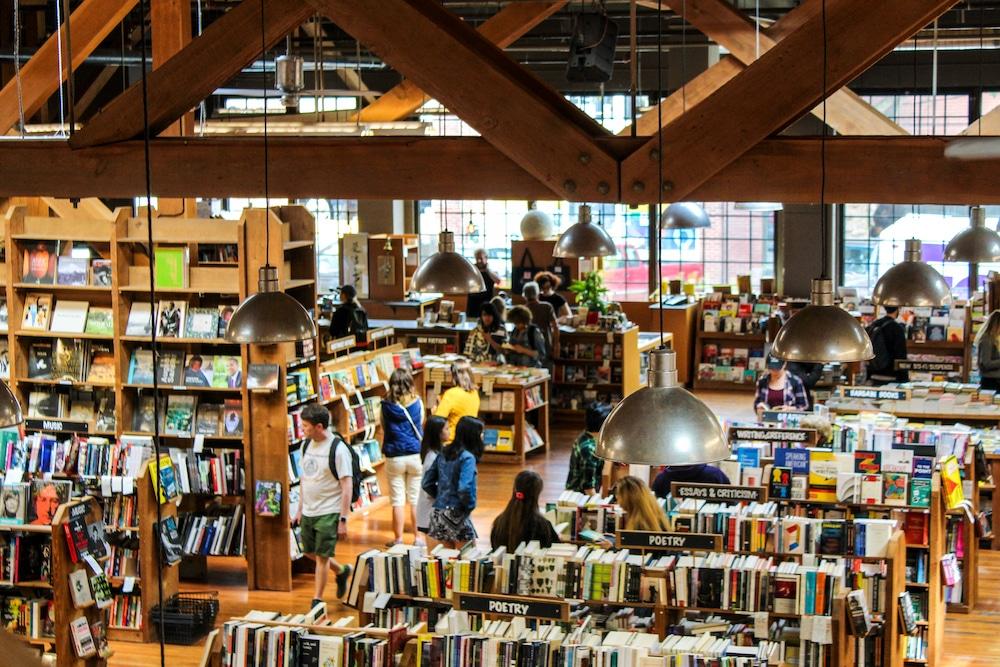 bookstores in seattle are super pretty