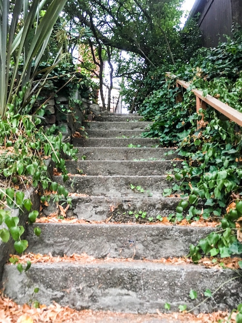 things to do in fremont seattle: venture up hidden stairs