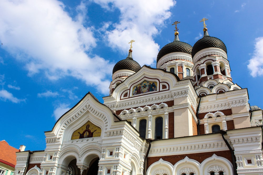 estonia has many russian cathedrals