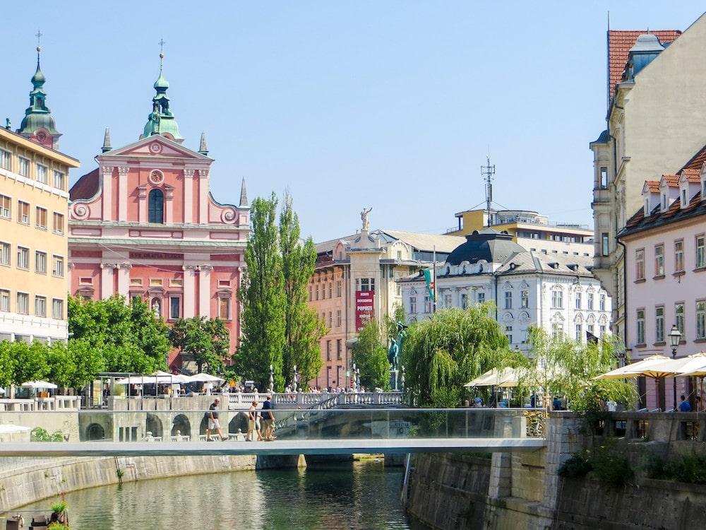 gorgeous capital slovenia waterfront