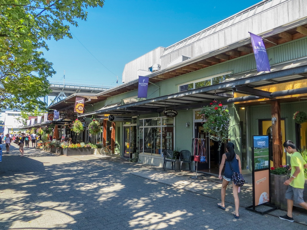 vancouver solo travel will take you to granville island