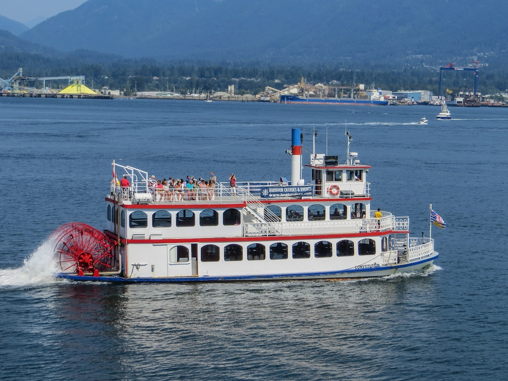 solo in vancouver? go on a cool boat ride