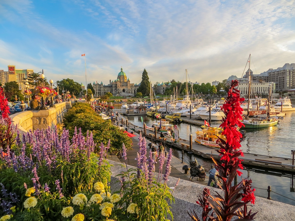 Victoria BC looking glorious!