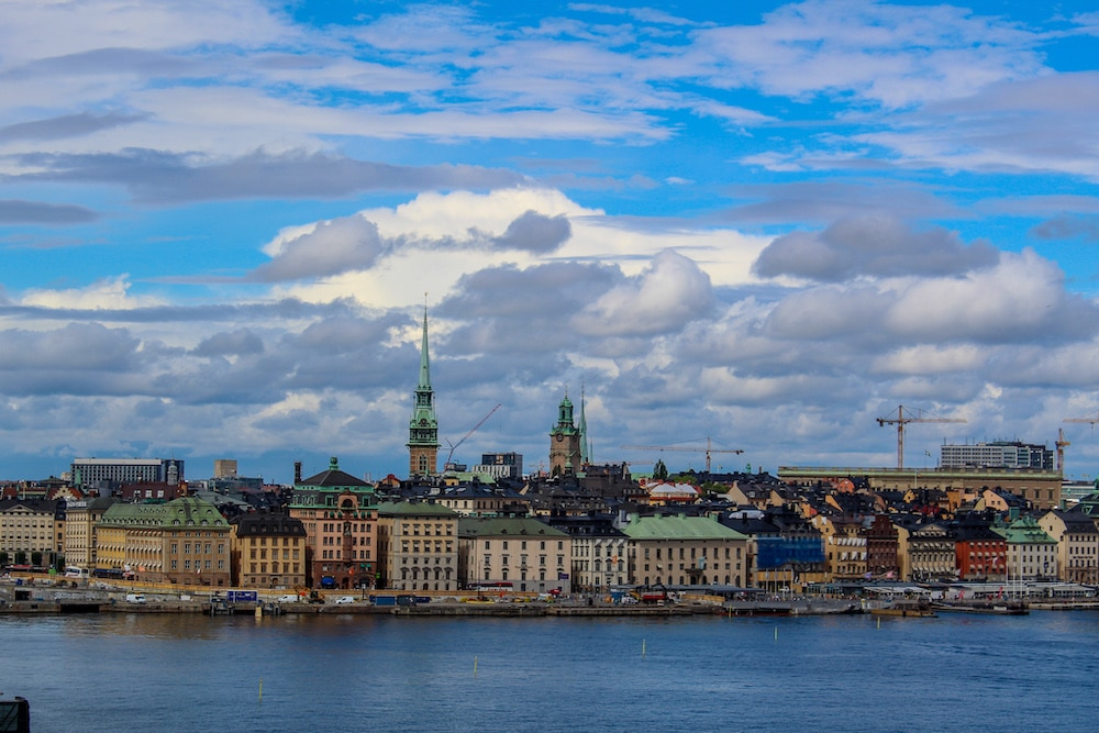 this gorgeous stockholm view clearly shows why i love traveling