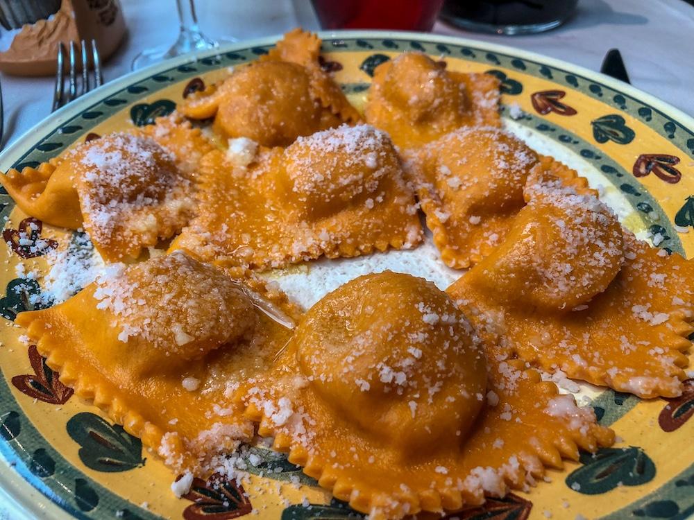 pumpkin tortellini in parma