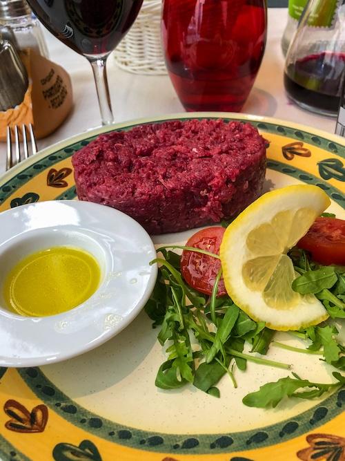 parma delicacies include horse meat