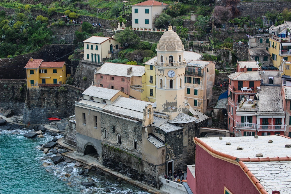 2 days in cinque terre and loving vernazza