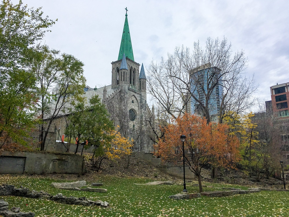 charming small church in montreal