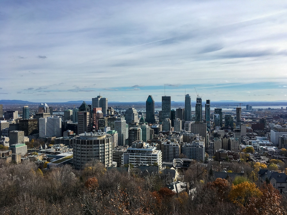 go solo in montreal and see the great views