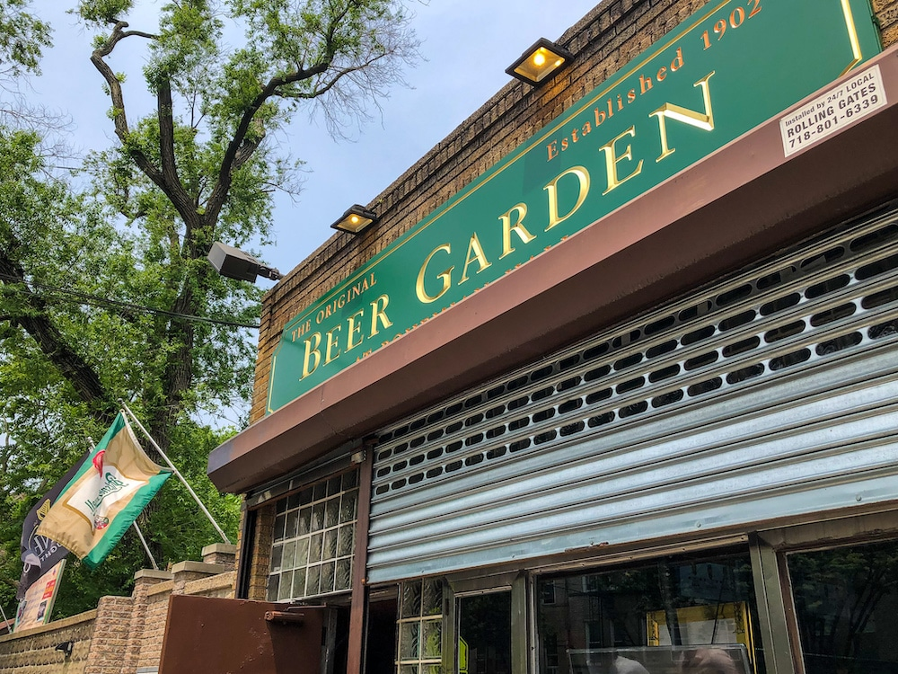 another one of the things to do in astoria queens is to go to a beer garden