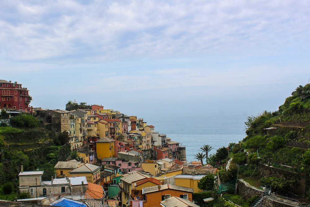two days in cinque terre as i take my time to see this view