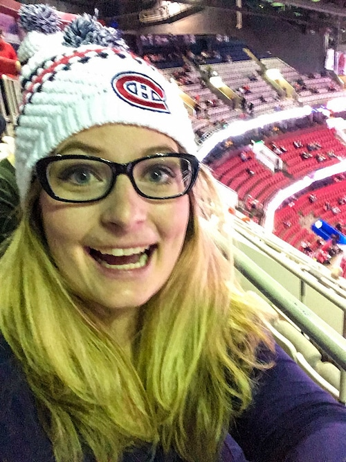 go to a hockey game as one of the things to do alone in montreal