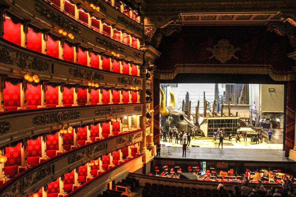 the opera in milan is stunning