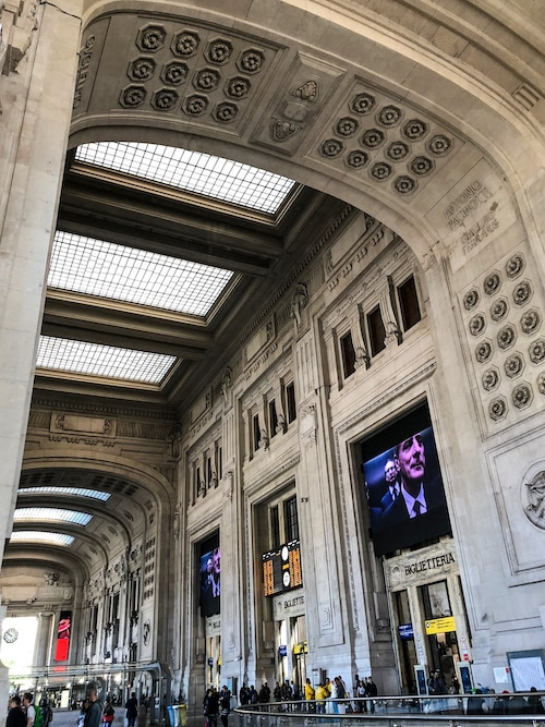 one day in milan means using central station