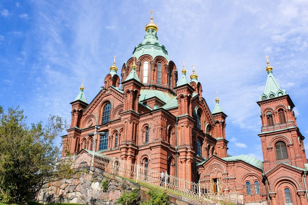 see many gorgeous churches with 1 day in helsinki