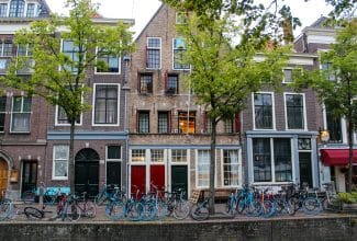 what to do in delft: ride a bike