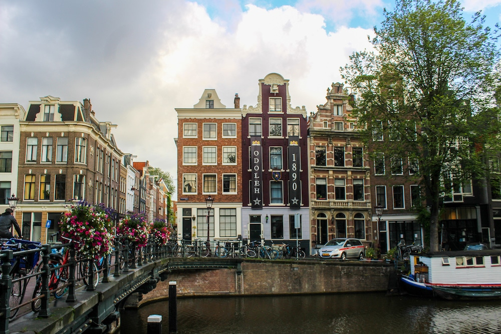 two days in amsterdam itinerary in the central area