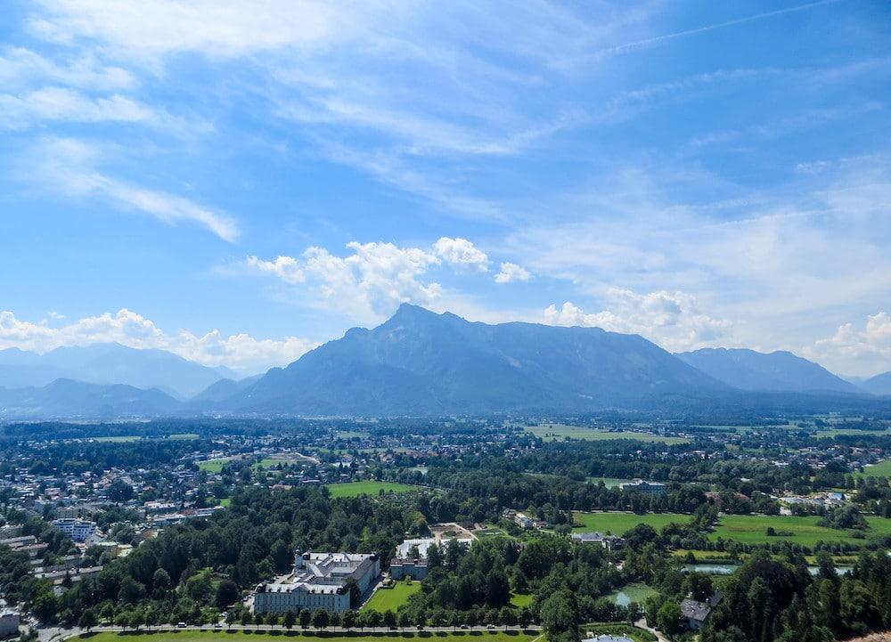 singing the sound of music in salzburg austria