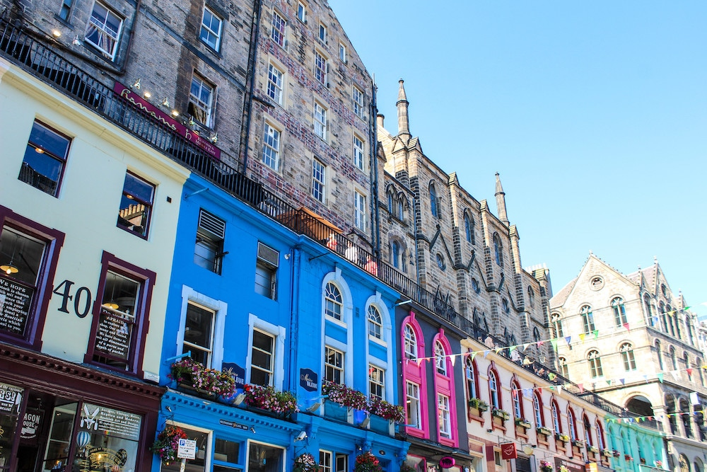 edinburgh itinerary 2 days and seeing grassmarket