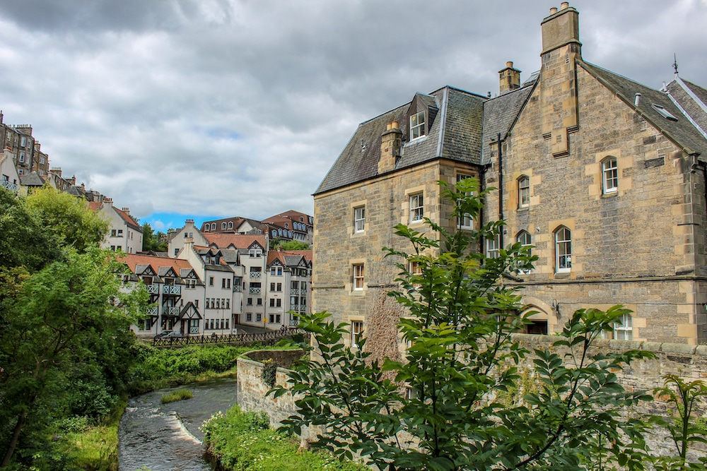 2 days in edinburgh itinerary in dean village