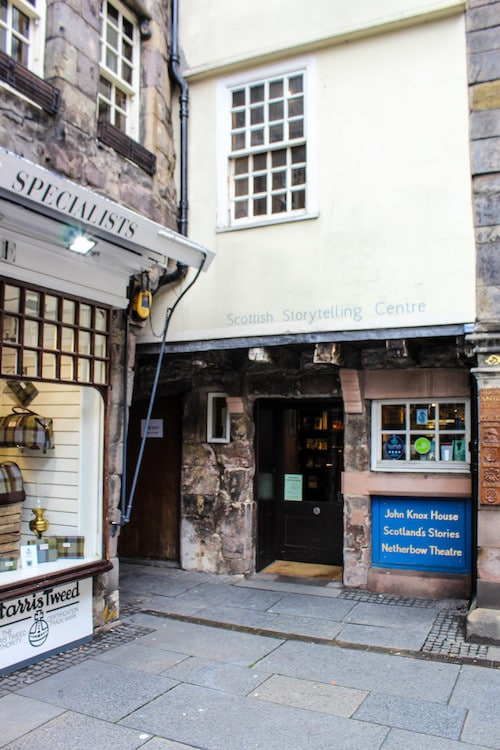 the cute corners you will find in edinburgh in 2 days