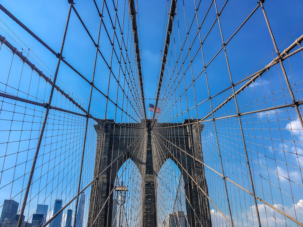 your 2 days in new york itinerary should include the brooklyn bridge