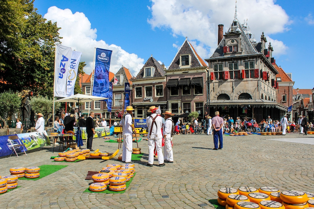 need things to do in hoorn the netherlands? go to a cheese market