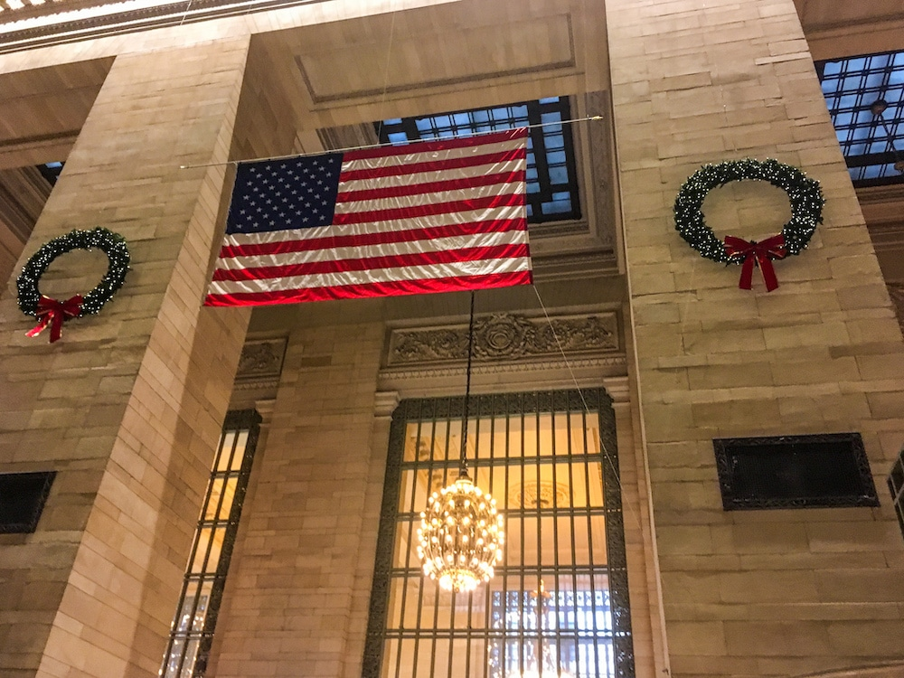 new york city in december is lovely in grand central
