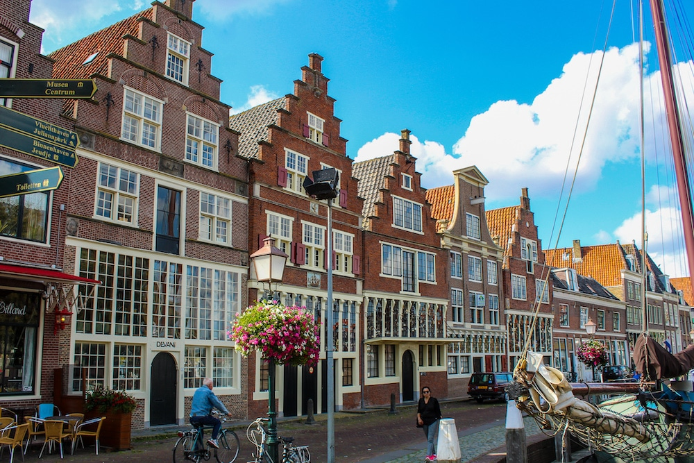 things to do in hoorn: walking along the harbor front