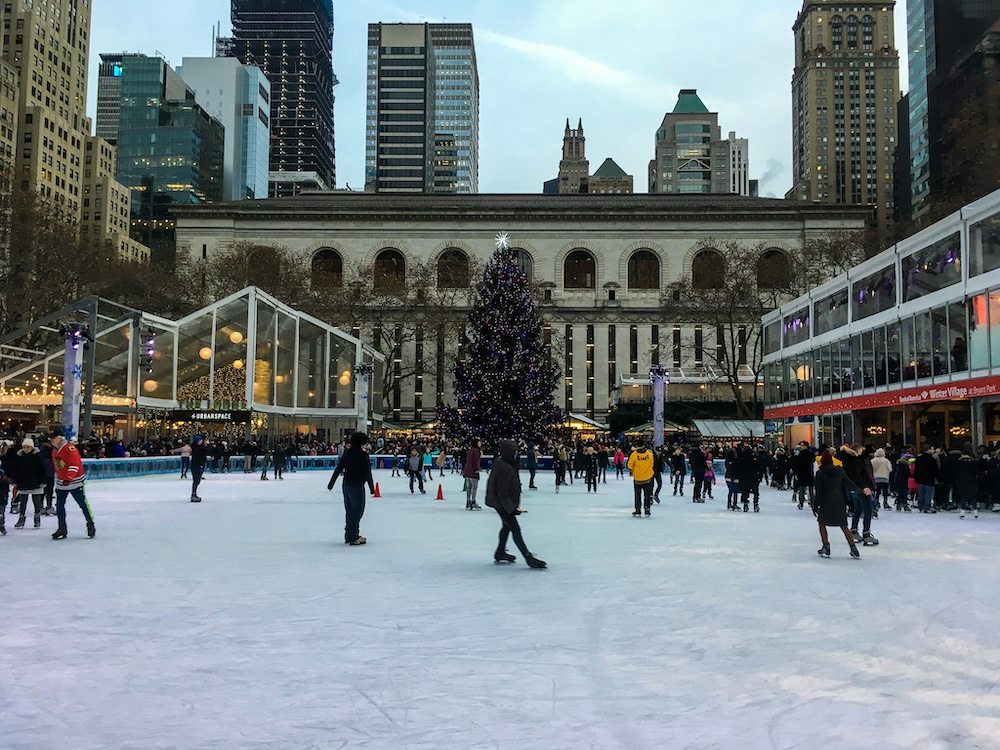 new york in winter is a magical place