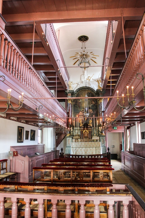 why should i go to amsterdam? to see a hidden church