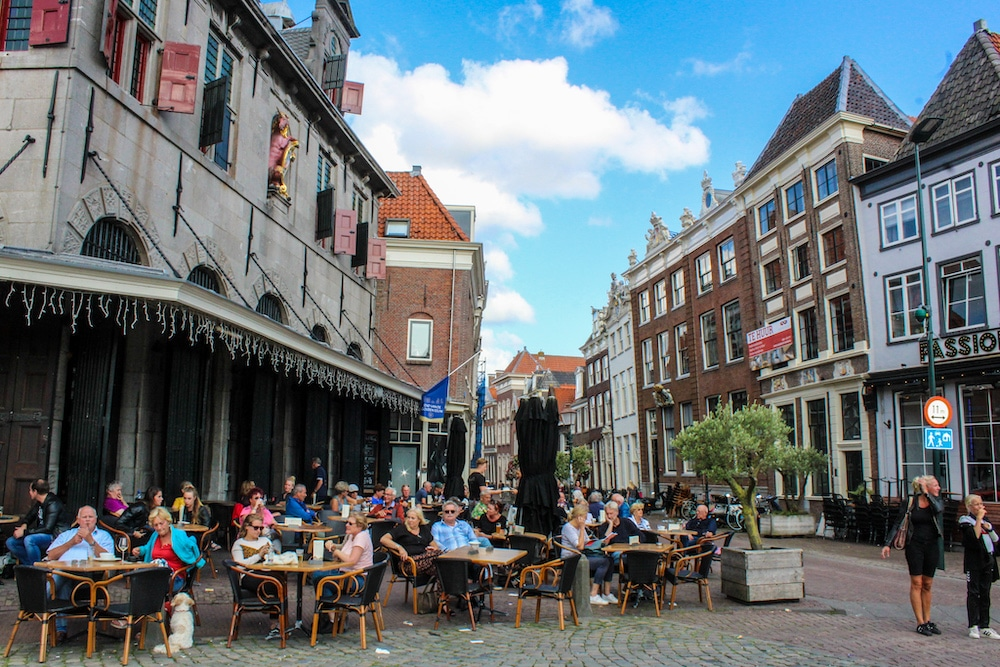 hoorn things to do include having a drink outside