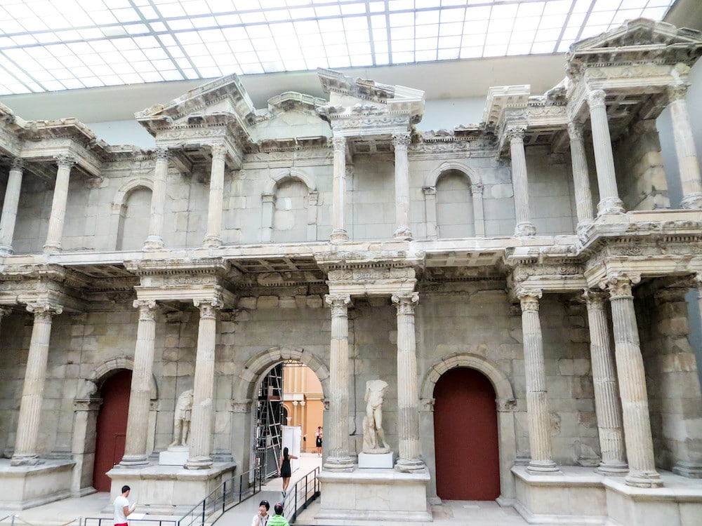 inside one of berlin's great museums
