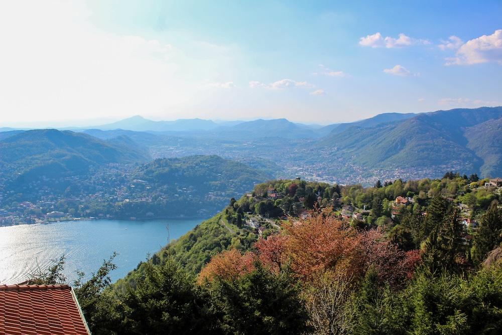 2 days in como and climbing for these views