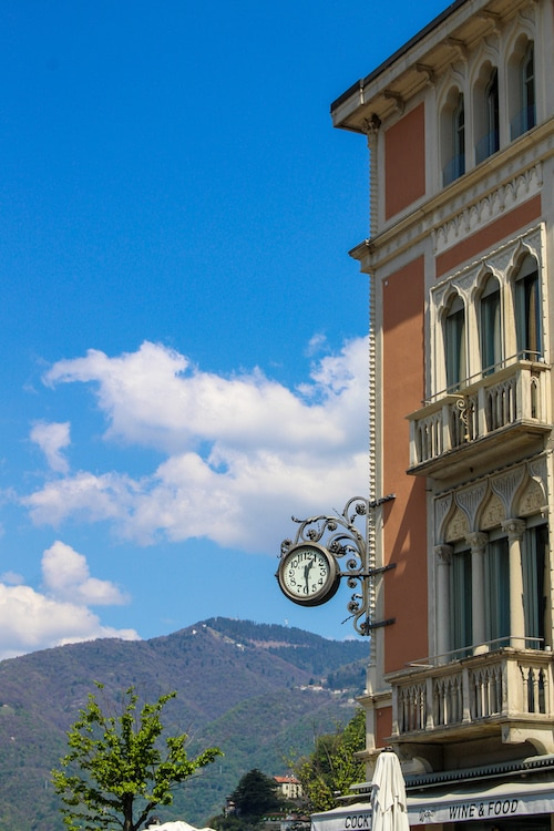 fall in love with como's streets and scenery