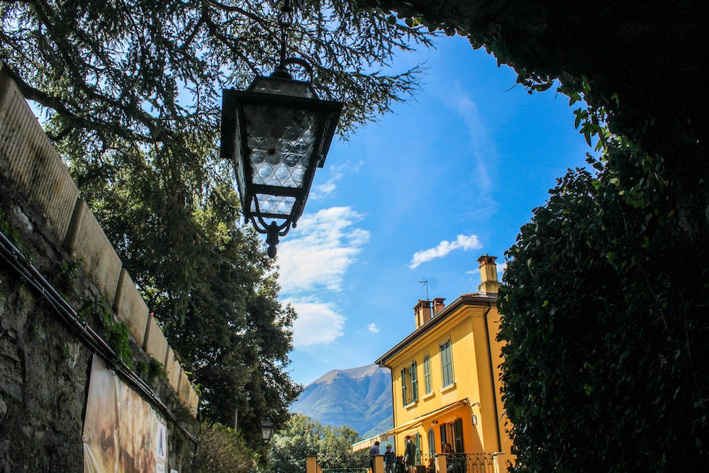 a lovely path in bellagio