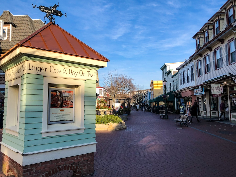 shopping at washington mall is among the things to do in cape may new jersey