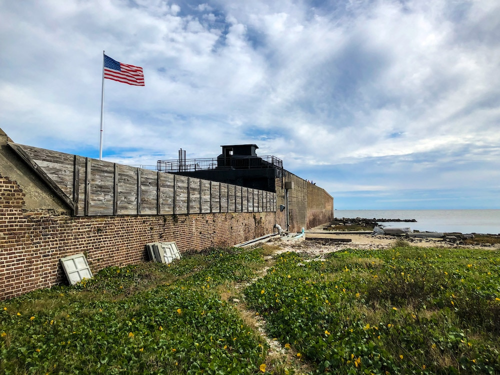 3 days in charleston at fort sumter