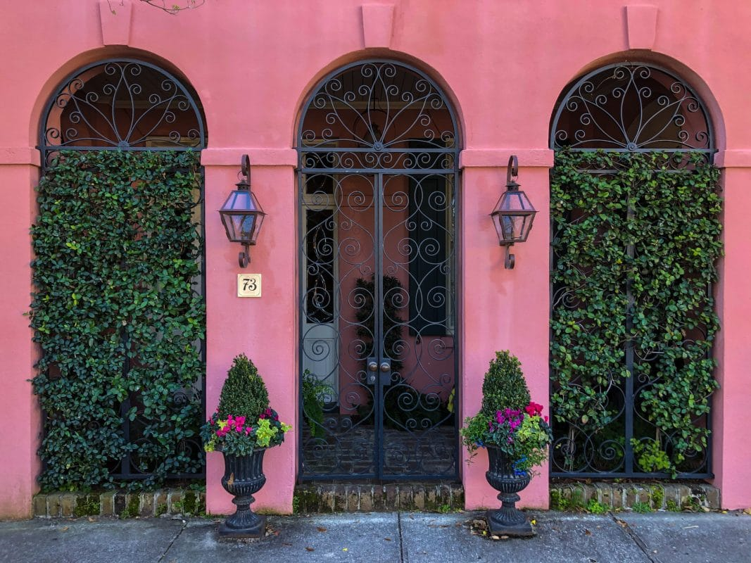 three days in charleston and taking pictures of doors