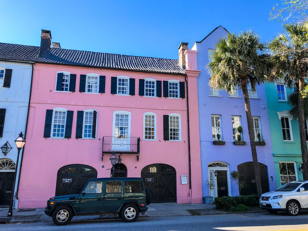 with 72 hours in charleston you must see rainbow row
