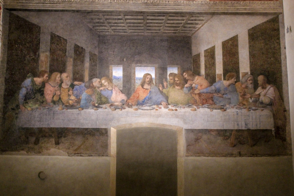 photo of the last supper