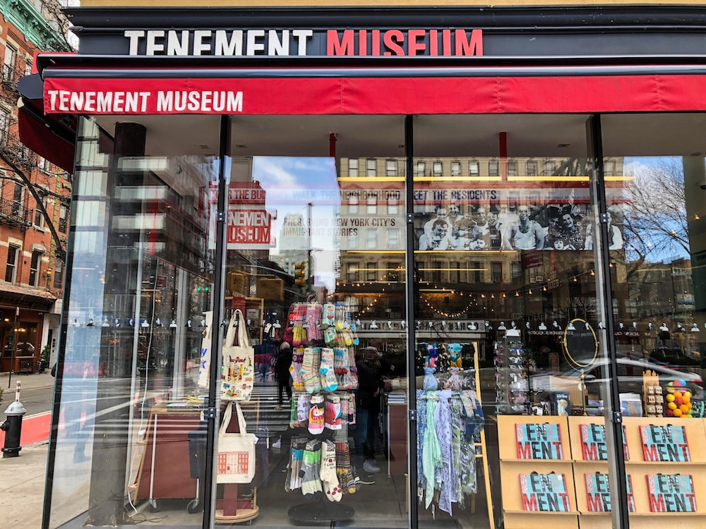 tenement museum entrance les nyc