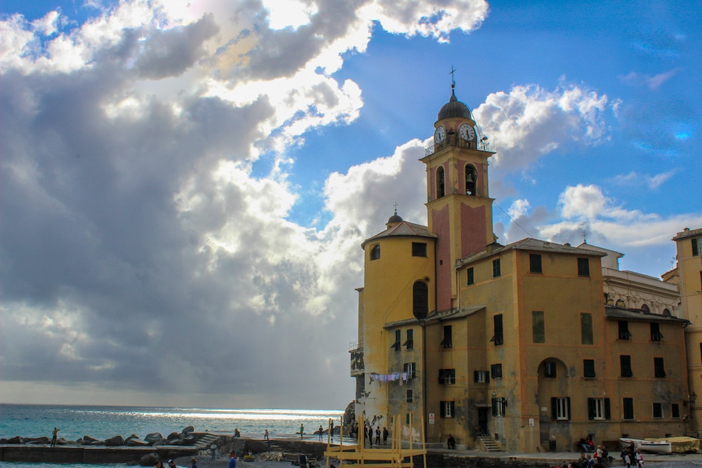 this beautiful church is one of the lovely things to do camogli
