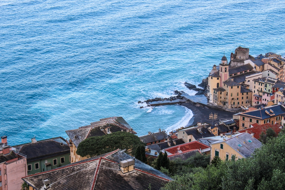 things to do in camogli include the views
